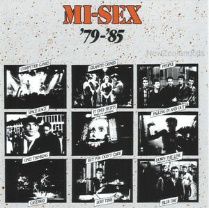 MI-SEX Misex best of cd 1979-85 New Zealand - Oz New Wave