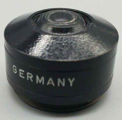 Leitz Microscope Condenser Element Lens Apl Oel 1.25
