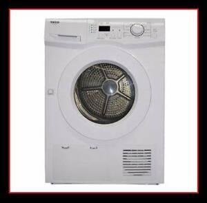 New Clothes Dryer TECO 7KG. Auto Sensing Dryer. Two Year Warranty Ipswich Region Preview