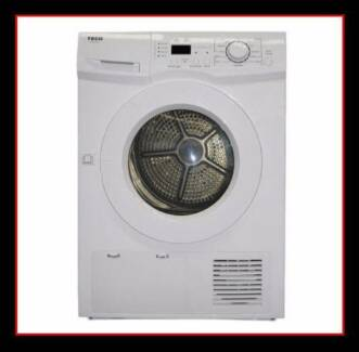 New Clothes Dryer TECO 7KG. Auto Sensing Dryer. Two Year Warranty