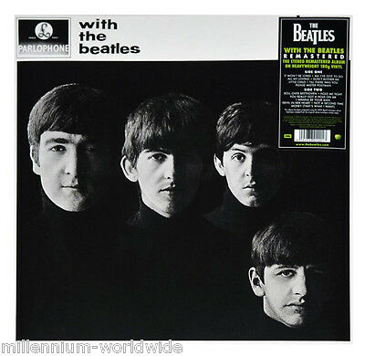 "SEALED & MINT - THE BEATLES - WITH THE BEATLES - 12"" VINYL LP - 180 GRAM RECORD"