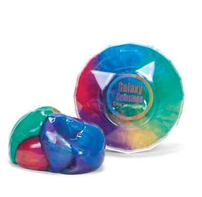 Galaxy Multi-coloured Rainbow Like Putty Simple, Squishy Fun