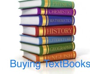 Buying textbooks for cash