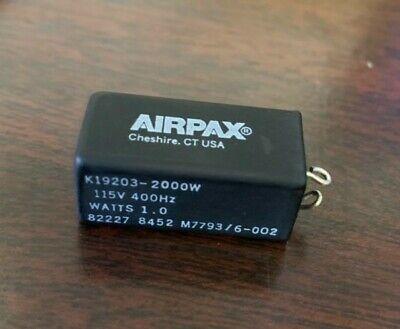 M77936-002 Airpax Federal Military Connector 15 Qty Read Description