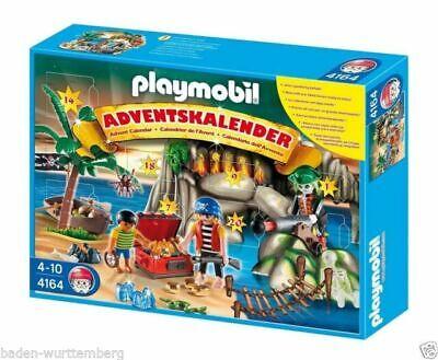 PLAYMOBIL 4164 Christmas Holiday Advent Calendar Pirates Treasure Cove NEW