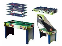 4 ft, 13 in 1 games table, suitable for children