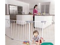 Baby dan room divider/ guard