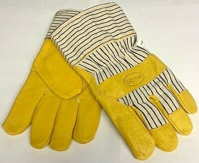 Boss Insulated Industrial Work Gloves Pigskin Leather Palm Glove Large 1-pair