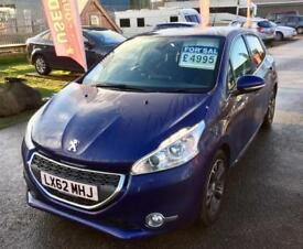 PEUGEOT 208 ALLURE HDI GREAT ECONOMY & VALUE CAR - MUST BE SEEN - LOW MILEAGE 64K - FREE ROAD TAX