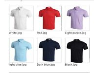 New men's short sleeve lapel polo T-shirt
