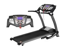 Treadmill with Heart Rate Monitor and Media Speaker