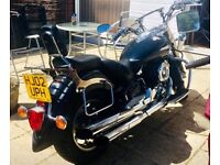 Yamaha XVS1100 Dragster Classic. Very Low Miliage and Full MOT.