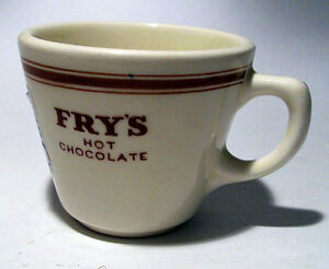 1950's Advertising -- FRY'S COFFEE CUP
