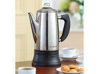 Scotts of Stow Cordless Coffee Percolator - New & Boxed - £18 Bargain!
