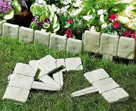 Cobble Stone Lawn Edging (grey)