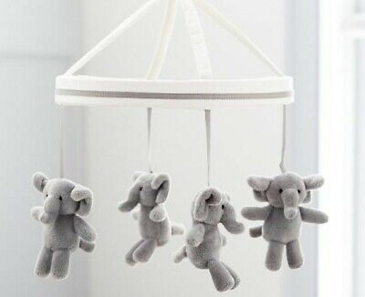 Pottery Barn Kids Taylor Elephant Crib Mobile