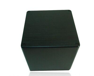- 1PCS 134*134*136mm DIY Aluminum Vintage Transformer Protect Cover silver black