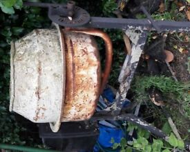 Old Cement mixer - Repair Required