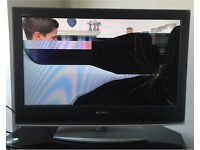 Sony Bravia LCD LED Plasma TV Television damaged spares or repair