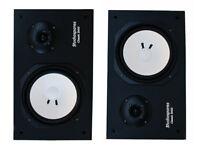"""Stereo HiFi 8"""" speakers 2 x 80 Watts RMS VGC"""
