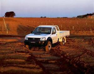 Nissan Navara – 2010 D22 DX Cab Chassis GUARANTEED FINANCE Mount Druitt Blacktown Area Preview
