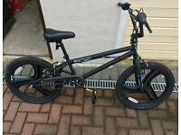 Zinc BMX Stunt Bike in Matt Black