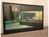 LARGE Professionally Framed Print - Boulevard of Broken Dreams by Helnwein 1987