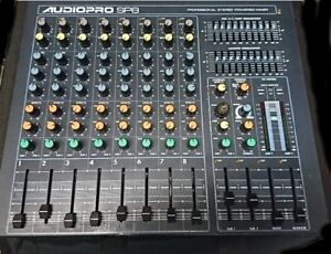 Yorkville Micro Mix Powered Mixer 250 W X 2 Stereo , Effects
