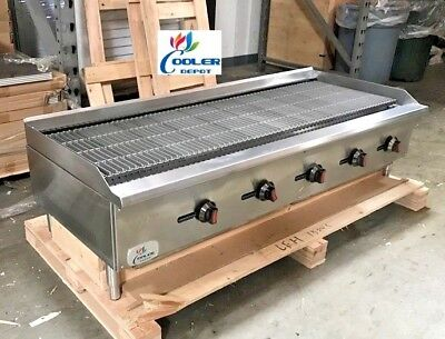 New 60 Commercial Radiant Broiler Char Grill Shawarma Restaurant Cd-rb60 Nsf