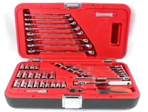 "Sidchrome 36-piece 1/4"" square drive metric and A/F socket and sp Morley Bayswater Area Preview"