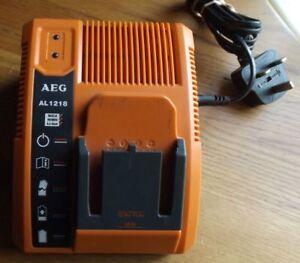 AEG AL1218 Battery Charger 12v/14.4v/18v