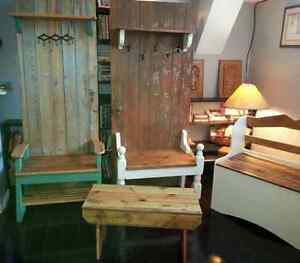 Rustic Hall Benches - Various Sizes and Styles Peterborough Peterborough Area image 2