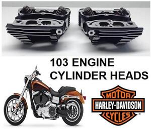 USED HARLEY DAVIDSON CYLINER HEADS - 110956147 - 103 ENGINE - MOTORCYCLE AUTO PARTS