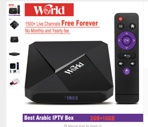 Android IPTV Box Live Channels One time Payment Lifetime Free Be