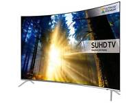 "SAMSUNG 43"" SUHD SUPER 4K CURVED Quantum Dot DISPLAY SMART WI-FI HD"