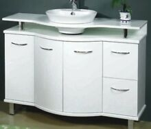 1200mm Vanity with raised Onyx Stone Top with China Bowl bathroom Woy Woy Gosford Area Preview