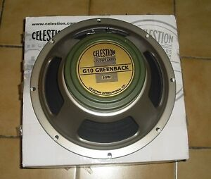 """Sell or Trade - New in box 10"""" Celestion Greenback 30W"""