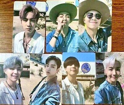 BTS Butter Lucky Draw M2U Photocards Full Set + DHL