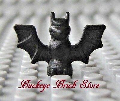 Neu Lego Minifig Tier- Schwarz Fledermäuse - Halloween Haustier Viele /2 ()