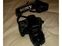 Sony DSLR a330 with 18-55 and 50 mm lens