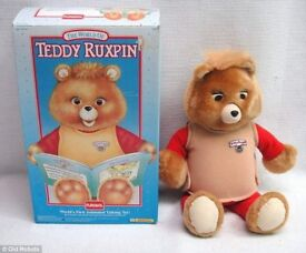 The original Teddy Ruxpin