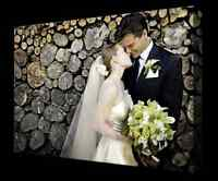 CANVAS Printing for wedding or engagements photo's