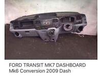 Mk7 ford transit dashboard
