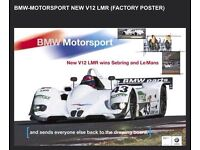 E10 BMW  RALLY RACE CAR POSTER IMAGE PRINT RACING SPEED 2002-SPEC 2.0-LITRE