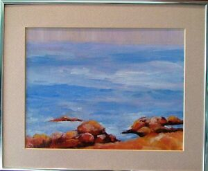 Original Oil painting already framed