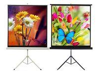 Portable HD TV Tripod Cinema Home Projector Screen