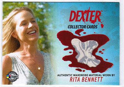 2009 BREYGENT DEXTER RITA BENNETT DCC2 WARDROBE COSTUME MATERIAL CARD JULIE BENZ