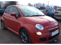FIAT 500 1.0 1.2 1.3 M/JET BYDIESEL POP LOUNGE SPORT S TWINAIR FROM £25 PER WEEK