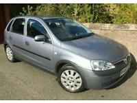 Vauxhall corsa 2002 on a 52 plate *long mot* only done 74k (not astra clio picanto fiesta punto c1)