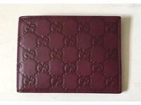 Gucci leather wallet 100% genuine